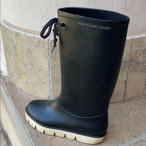 Marc Jacobs Long Rubber Rain Boots
